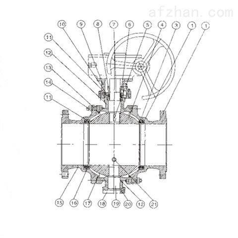 Q47F固定式球阀