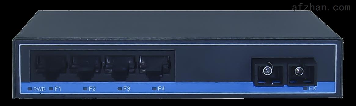 賽康 安防級交換機  百兆1光4電  非網管