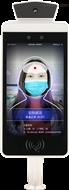 新疆人脸识别测温  红外测温面部识别一体机