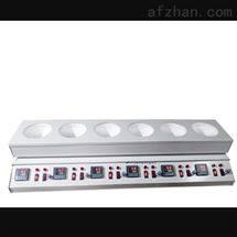 M385001数显搅拌电热套-六联 型号:ML18-6-500M