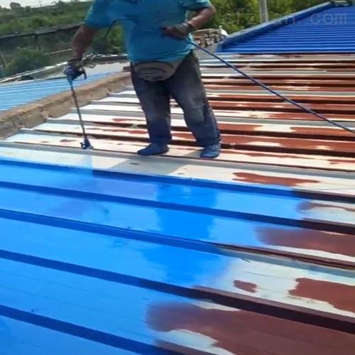 新密彩钢瓦专业防腐水性漆施工价格详情