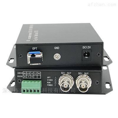 智能卡口4K高清光端機 定制2路SDI多業務