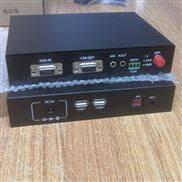 1路VGA 带1路环出 带就USB键鼠