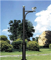 FNE-JKG-室外小区监控立杆 加长不锈钢摄像头支架