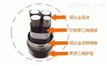 聚乙烯護套地埋YJV22鎧裝(交聯)電力電纜