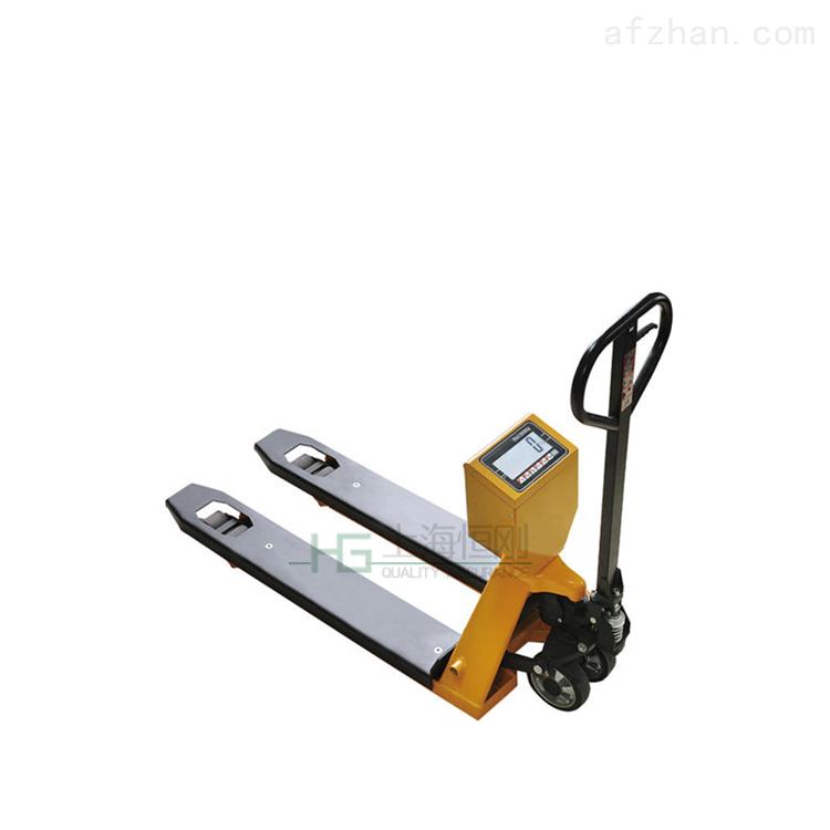 2吨液压叉车电子秤 工厂车间带打印叉车秤