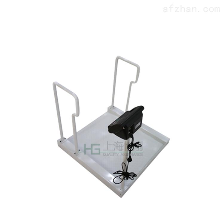 全不锈钢电子轮椅秤 医用带打印轮椅体重秤
