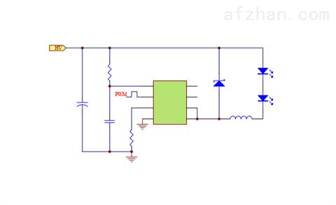 降压恒流LED芯片高精度PWM模拟调光无频闪