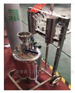 移動式核放射洗消器-去除消防車服表面污漬