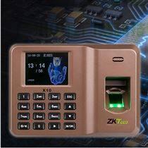 白云區智能密碼考勤機 指紋打卡機