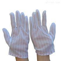 電子廠防靜電條紋手套