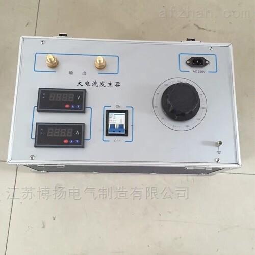 500A大电流发生器承装承试