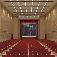 1200*600室内隔音工程材料环保E1级槽木槽孔吸音板