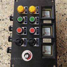 防爆防腐控制箱带电流表频率表