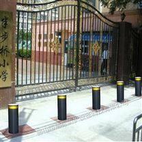 学校门口自动升降柱 防恐防撞液压路桩