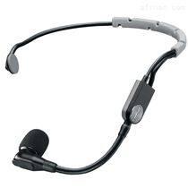 Shure 舒尔头戴式电容话筒 黑色头戴话筒