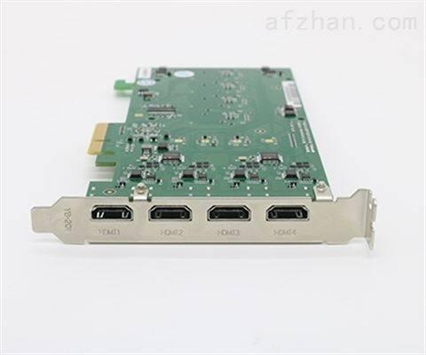 金微视高速PCIE4路HDMI采集卡