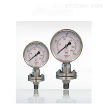 耐高温隔膜压力表