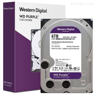 WD60PURX 6T海康威视 WD/西部数据 监控录像机硬盘