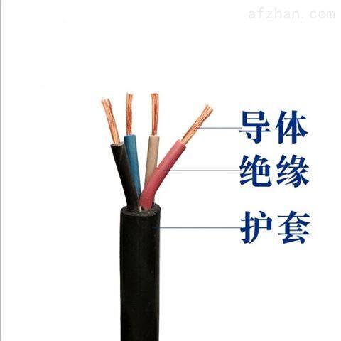 橡套软电缆YZW-3*2.5+1*1.5价格