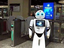 火車站智能機器人讓出行更加智能