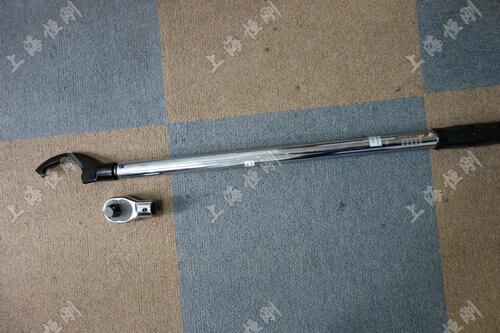 小型螺栓紧固扭矩扳手图片(可配勾型头)