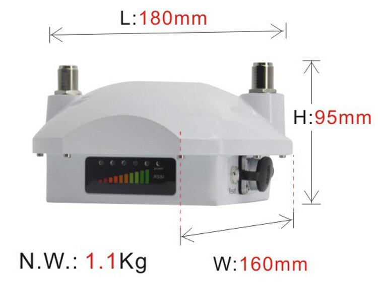 ST9800GB-CZ小功率车载mesh终端设备外观