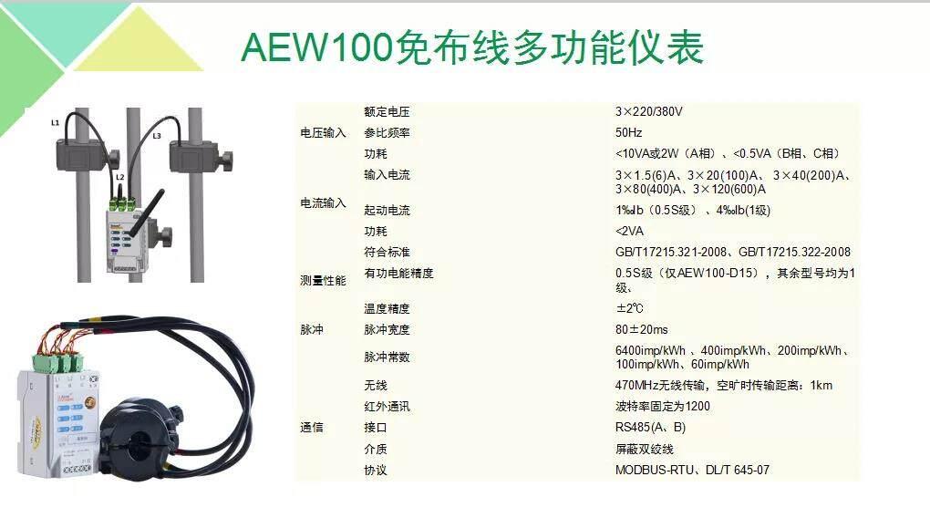 桐城市环保分表计电监控系统 安科瑞AcrelCloud-3000
