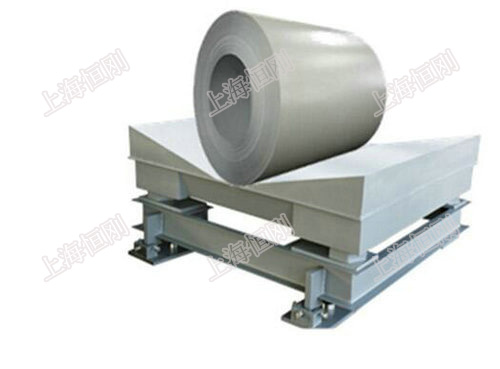 三层钢材缓冲平台电子秤
