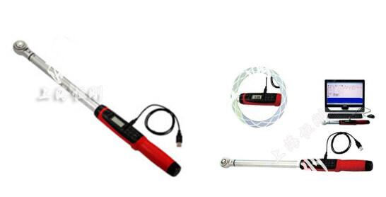 电子扭矩扳手带数据线图片