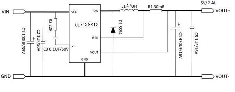CX8812电路图
